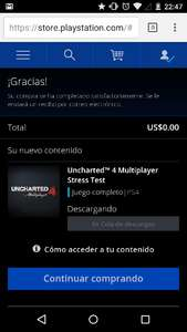 Uncharted 4 Open Beta GRATIS (NO necesita PS PLUS)