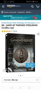 Amazon: BR - GAME OF THRONES STEELBOOK S.8 [Blu-ray]