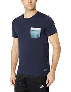 Amazon: Adidas Parley Playera con Bolsillo $173.53