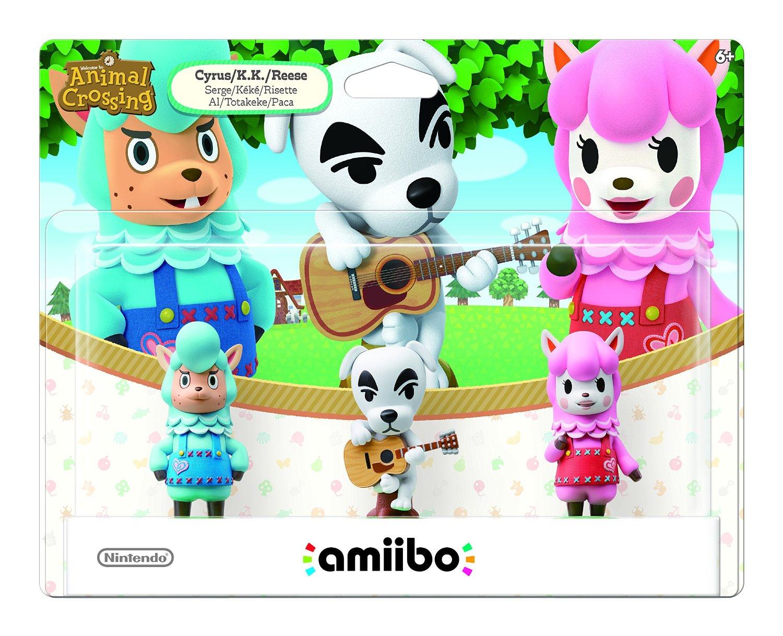 Amazon amiibos: Animal Crossing 3 pack $299, Tom Nook $90, Lucas $170, Inkling girl $112 y más