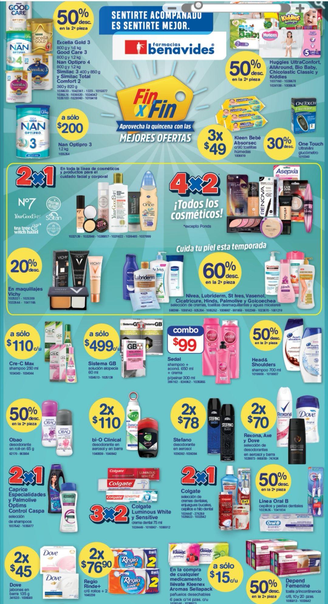 Farmacias Benavides: Ofertas de Fin de Semana del Viernes 13 al Domingo 15 de Diciembre