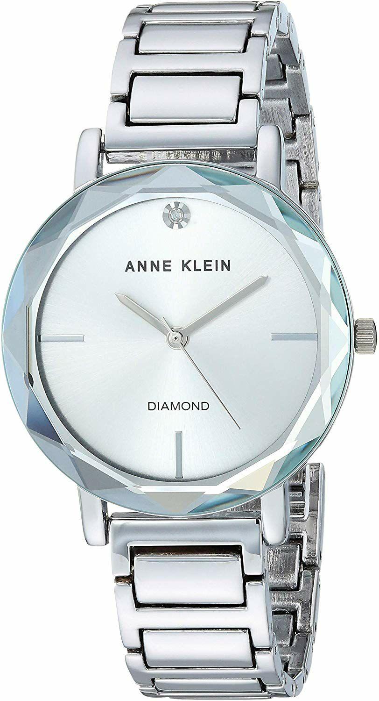 Amazon: Reloj Anne Klein para mujer con esfera de diamante (envío gratis con prime)