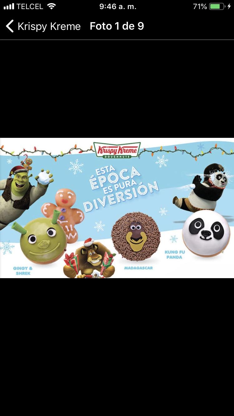 Groupon Krispy Kreme. Media docena de donas select mix a elegir