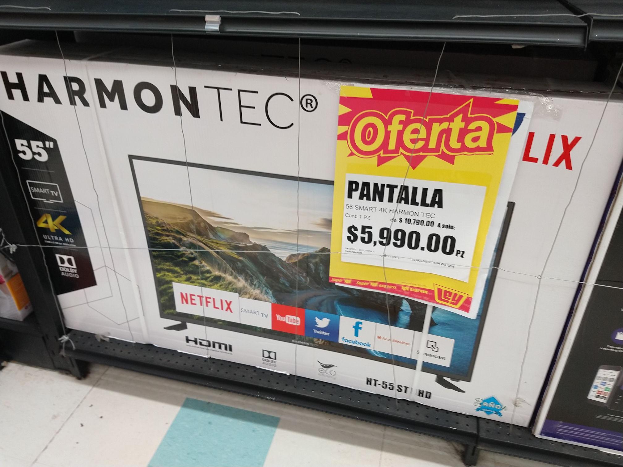 HarmonTec 55p 4k en tienda LEY