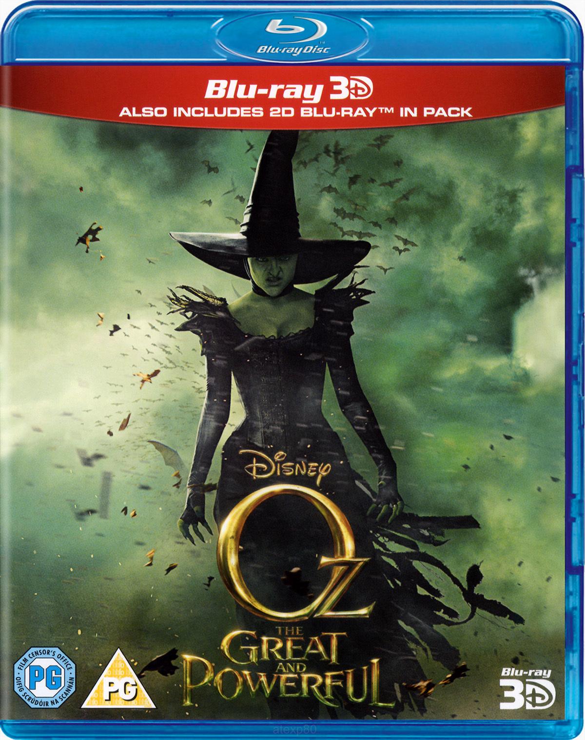 Sam's Club: Blu-ray 3D Oz el Poderoso en $49