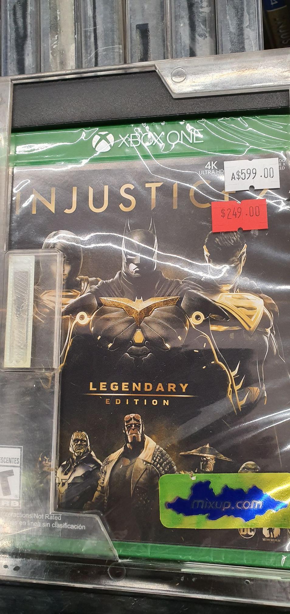 Mixup: Injustice 2 Lengedary para Xbox One