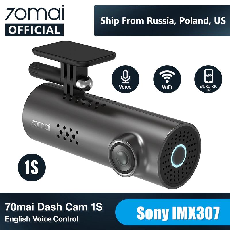 Aliexpress: Dashcam 1080p Voice Control | Night Vision