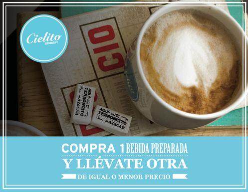 Cielito Querido Café: 2x1 en bebidas al pagar con tarjeta Visa