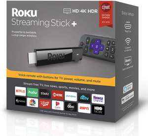 Amazon: Roku Streaming Stick Plus | Streaming Device HD/4K/HDR