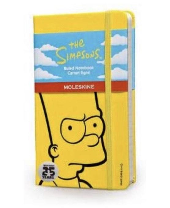 Amazon: Moleskine.. regalo para fans de los a Simpson's