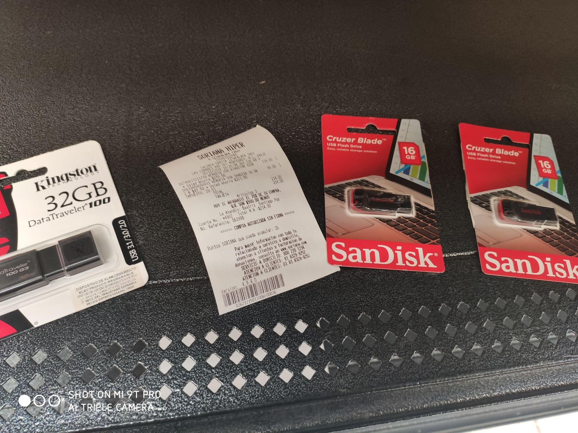 Soriana: Memorias USB