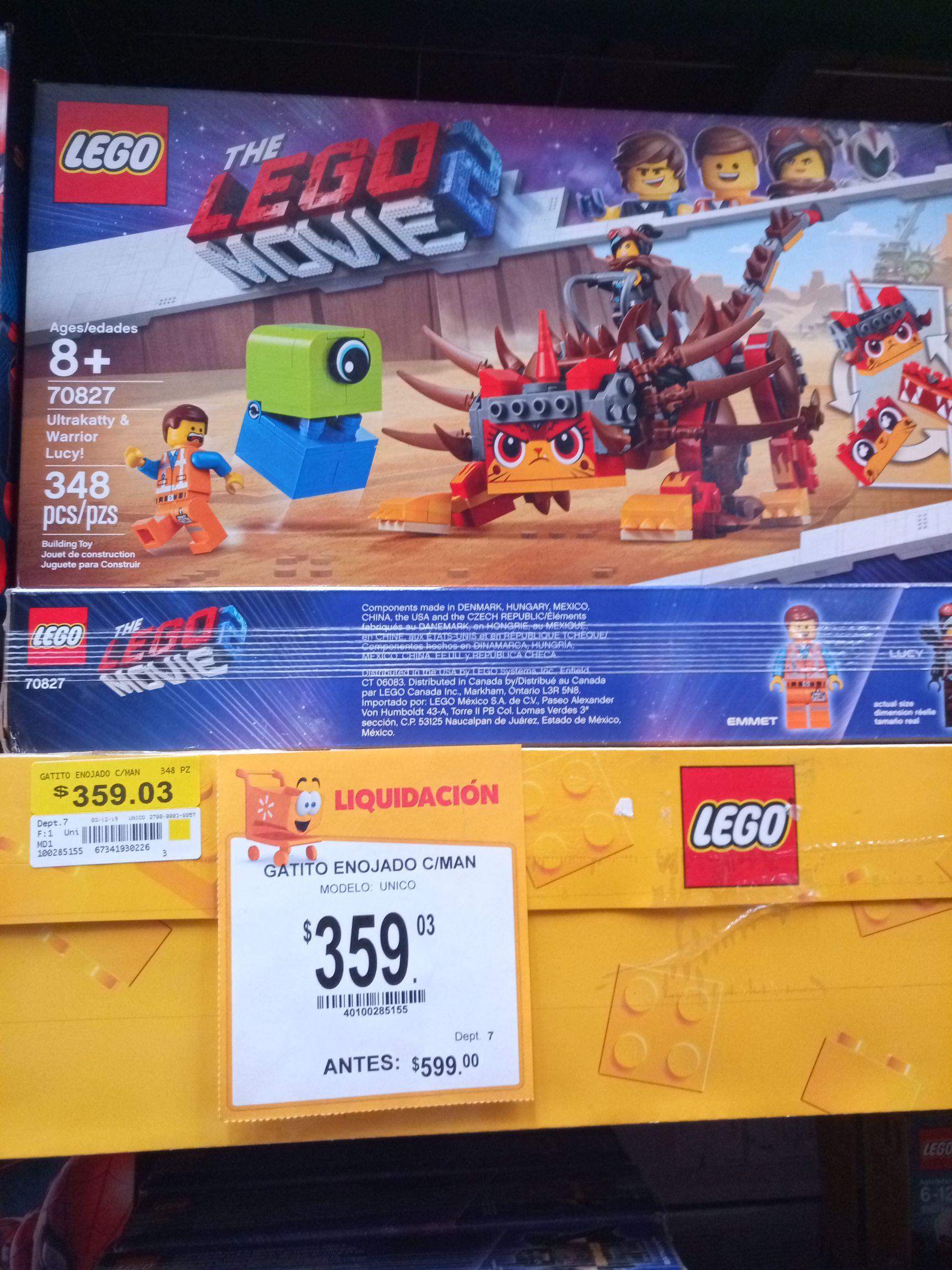 Walmart: Lego Movie 2. Set de Ultrakitty.