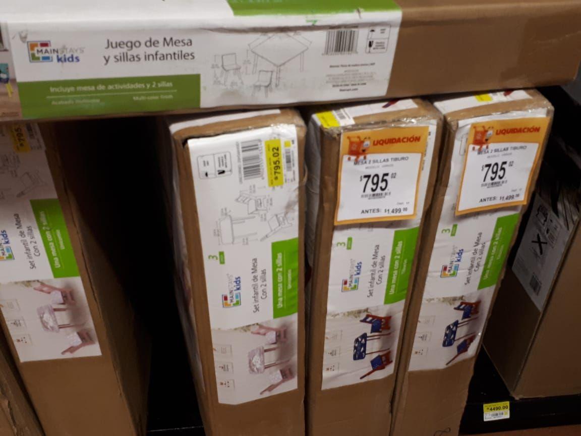 Walmart torres lindavista: Recopilación liquidaciones
