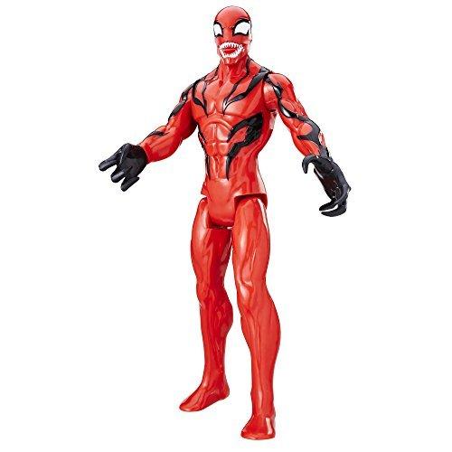 Amazon Mx: Carnage - Marvel Figura Spider-Man Titan Hero Villanos