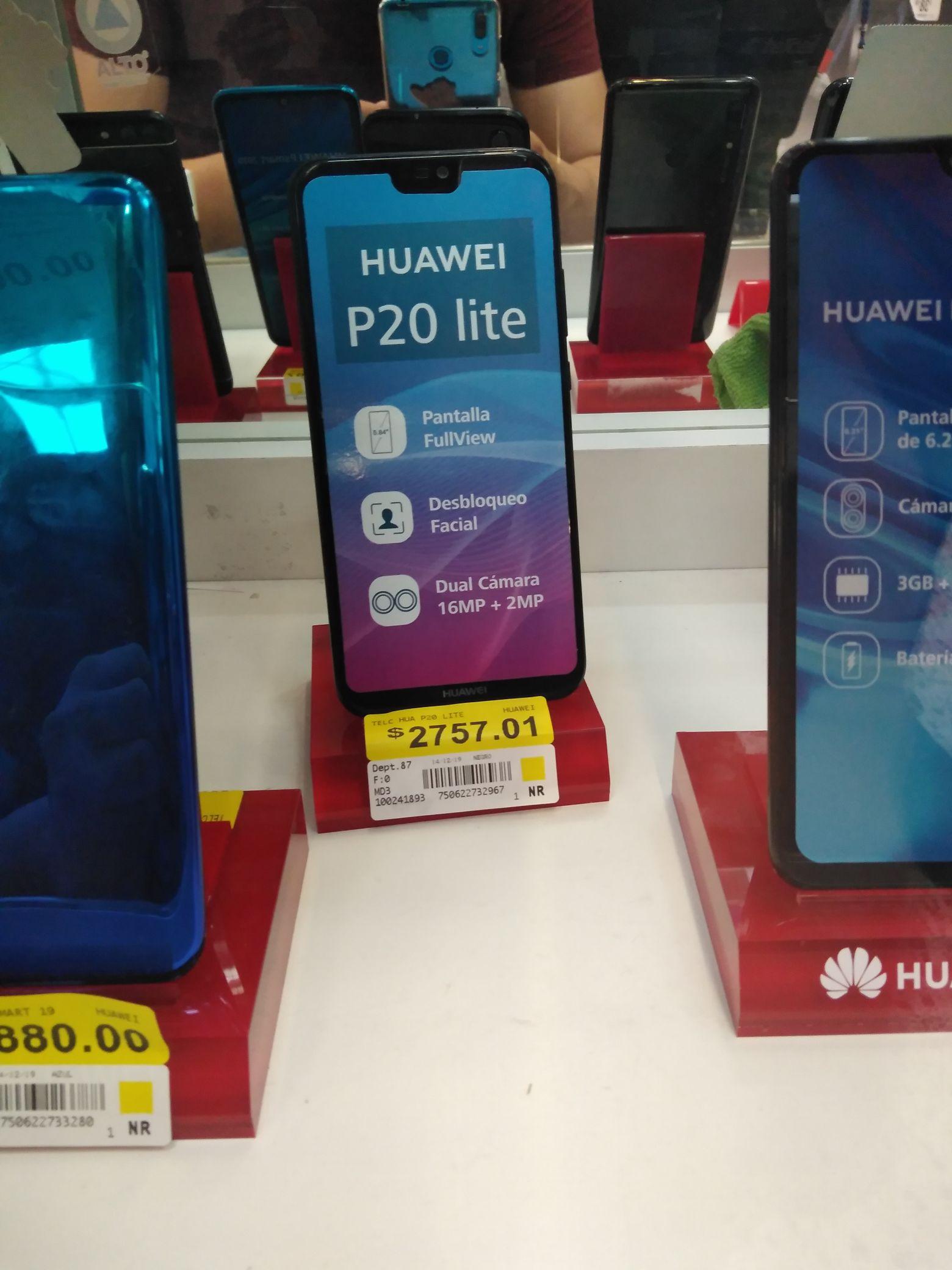 Bodega Aurrera: Huawei P20 Lite y Moto G6 Plus en liquidación