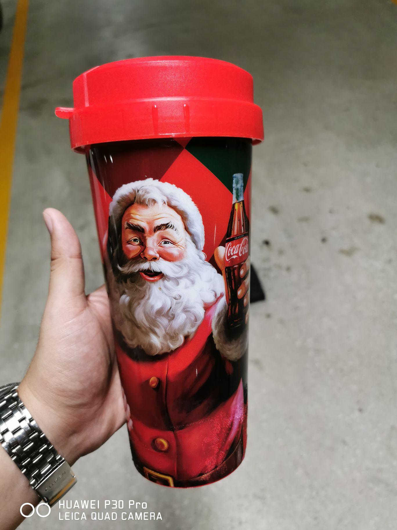Cinemex: vaso navideño coca-cola a $20 (en la compra de refresco grande)