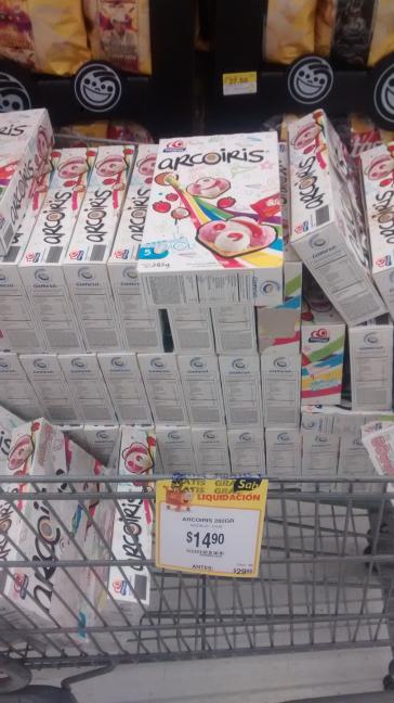 Walmart Domingo Diez: galletas Gamesa arcoiris a $14.90