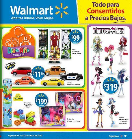 Folleto Walmart del 12 al 25 de abril