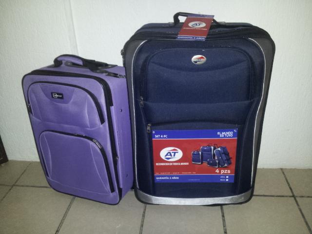 Bodega Aurrerá: Juego de 4 maletas American Tourist. Ultima Liquidación en $100.01