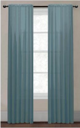 Amazon MX: cortina dusty blue a $110