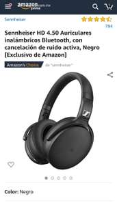 Amazon. Audífonos inalámbricos Sennheiser HD 4.50