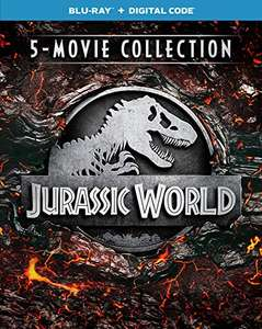 Amazon Jurassic Park World coleccion 5 blurays y digital