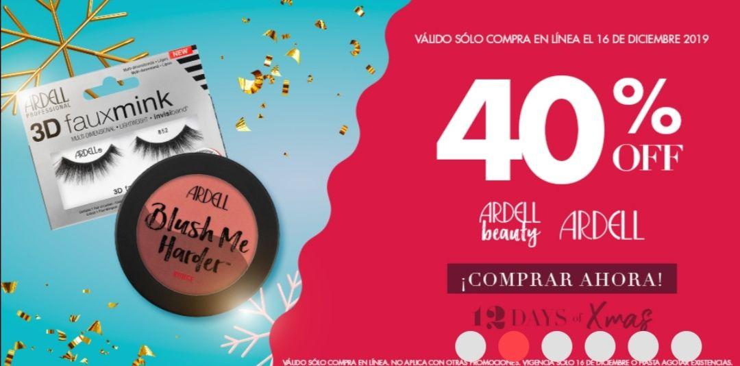 Sally Beauty: Día 4, 40% de desc. en Ardell Beauty & Ardell