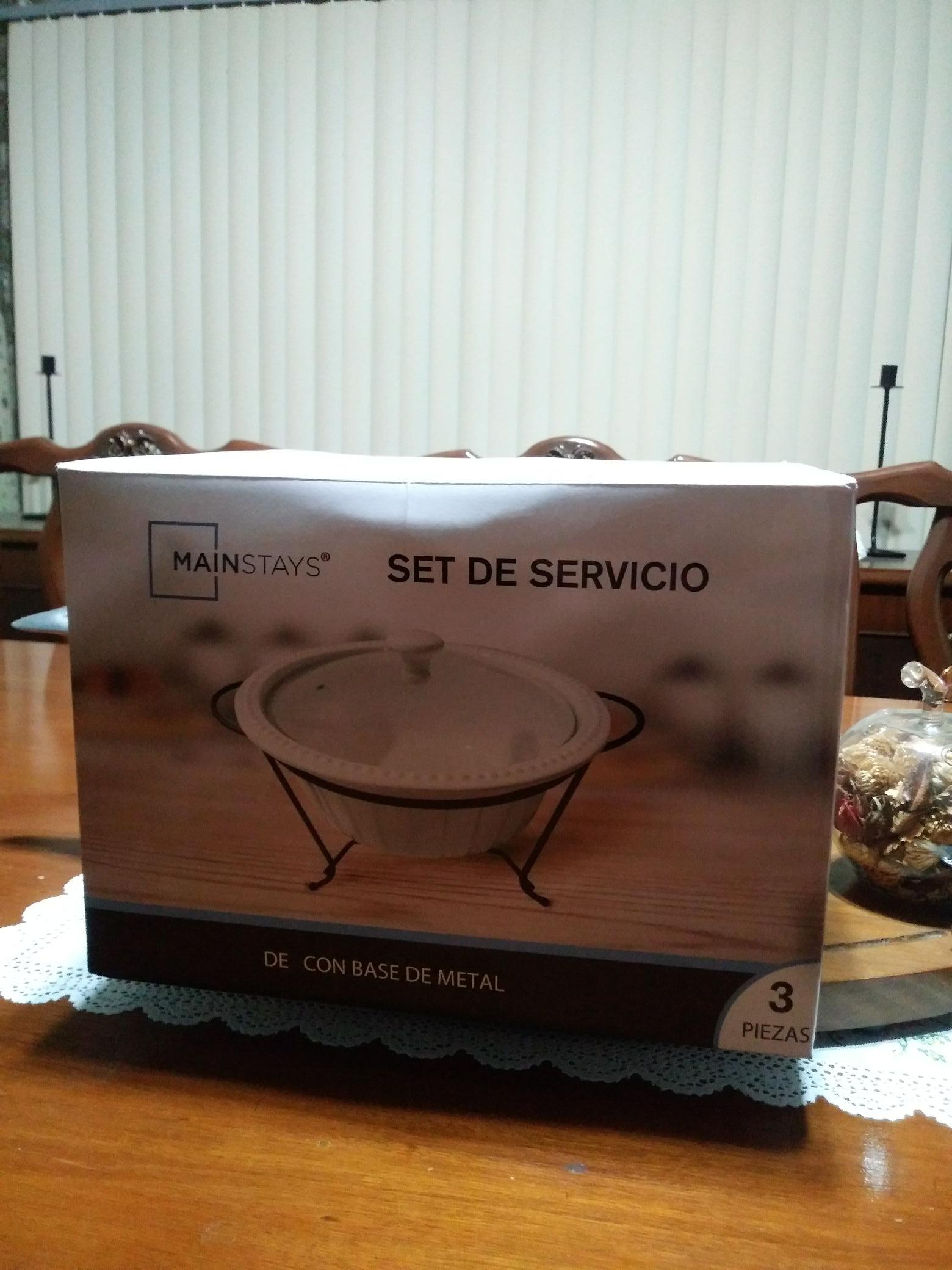 Walmart: sopera de ceramica mainstays