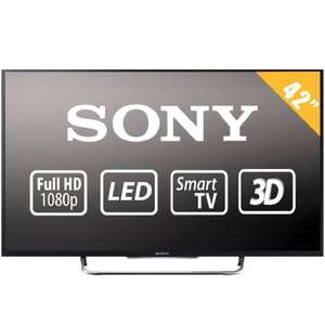 "Walmart en línea: TV Sony 42"" 1080p Full HD 3D Smart TV LED a $8,999 y MSI ($8,549 con Banorte)"
