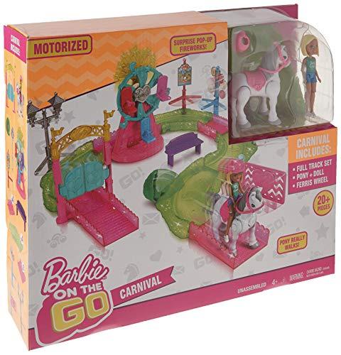 Amazon: Barbie Playset On The Go Feria de Carnaval en $420