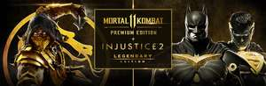 STEAM - MORTAL KOMBAT 11 Premium Edition + INJUSTICE 2 Legendary Edition