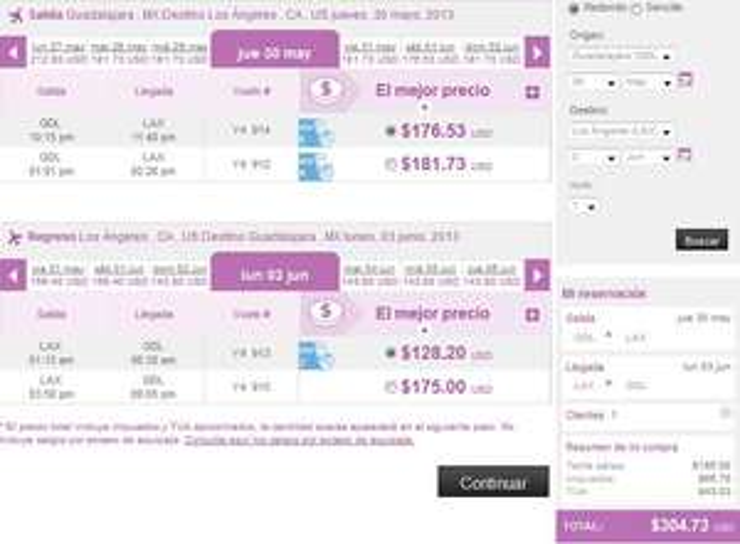 Volaris: vuelos nacionales desde $999 y a USA desde $175 dólares en mayo a junio