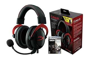 AmazonMX: Auriculares con micrófono Kingston Technology Cloud II + Rainbow Six Siege a $1.476