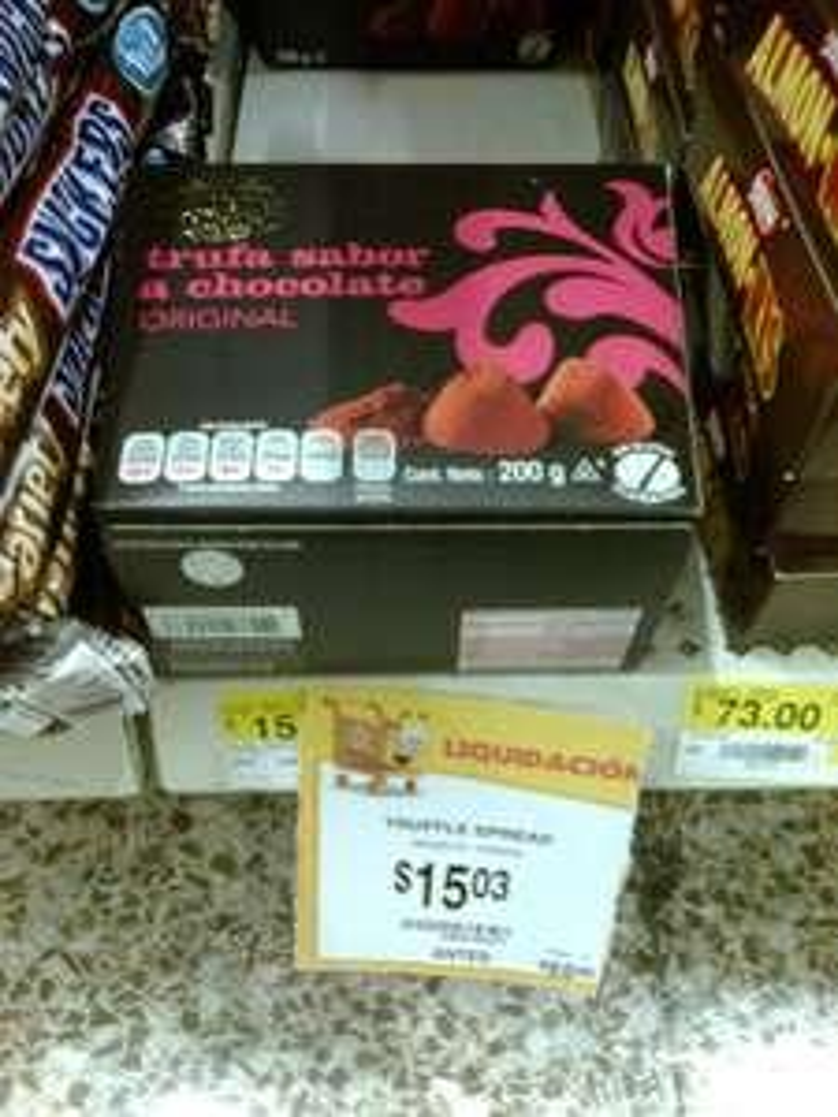 Walmart: Trufas de Chocolate Spread a $15, Elite Collec a $90.03, Witors Selection a $34.02