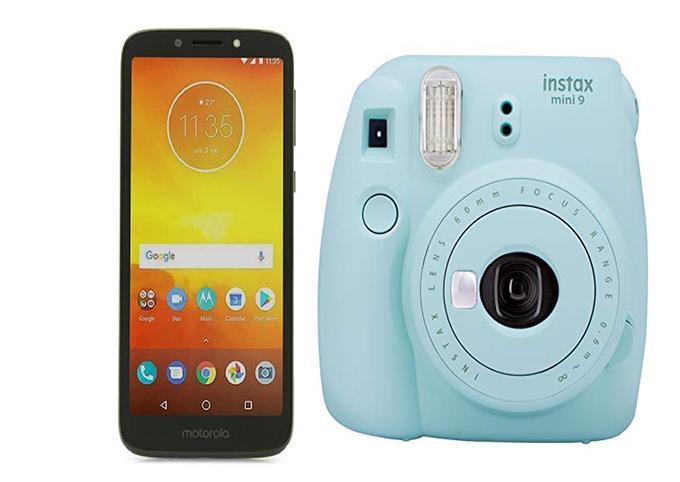 Best buy: Motorola E5 Play + Fujifilm instax mini 9 + 200 o 300 en cupones