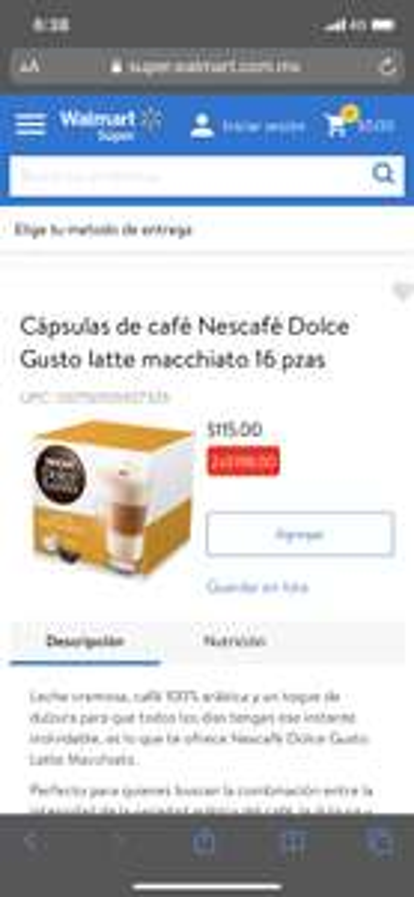 Walmart Variedad de cafés dolce gusto 2x$198.00