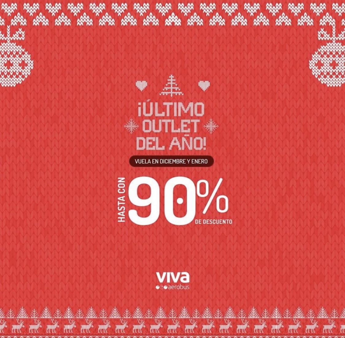Vivaerobus: outlet hasta el 90%de descuento