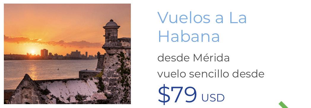 Interjet: 80% de descuento en vuelos a la Habana