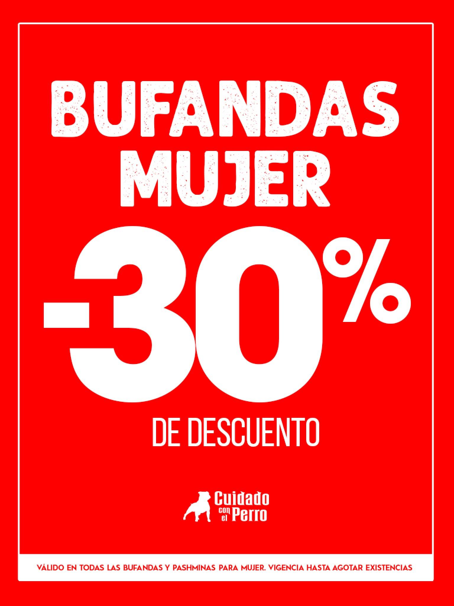 cuidado con el perro online: BUFANDAS Y PASHMINAS -30%