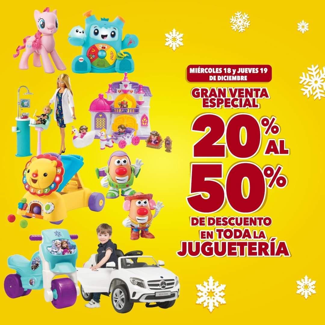 Woolworth y Del Sol: Descuentos del 20% al 50% de descuento en toda la juguetería