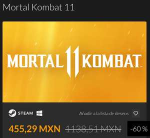 Fanatical: Mortal Kombat 11 PC Steam