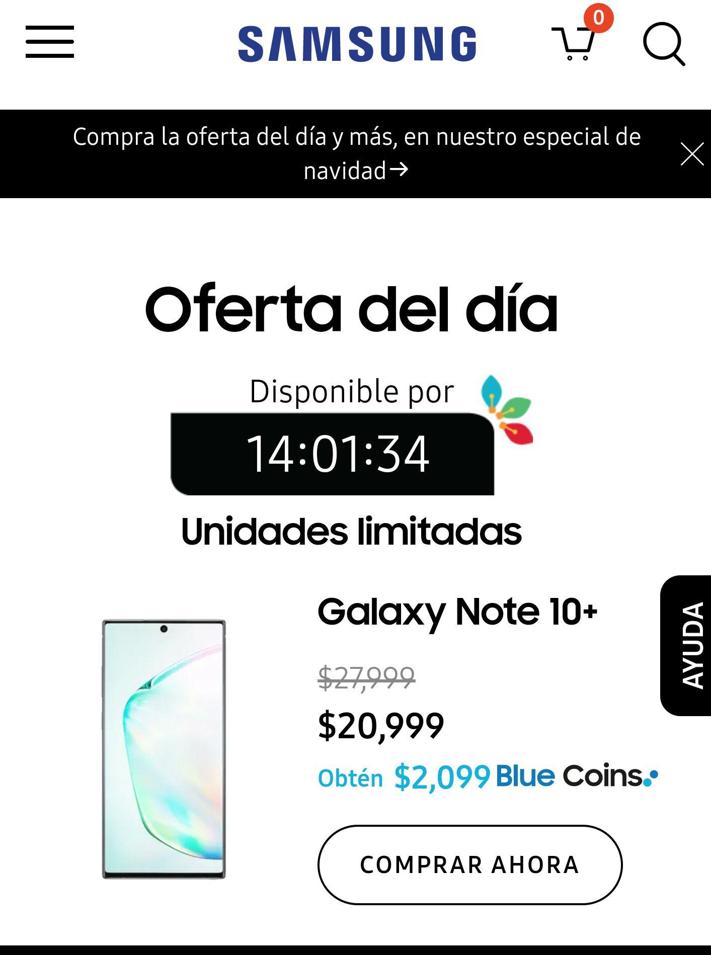 Samsung Store: Galaxy Note 10+