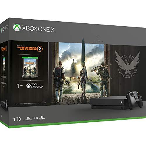 Amazon: Consola Xbox One X 1TB + The Division 2 pagando con Citibanamex o Banorte