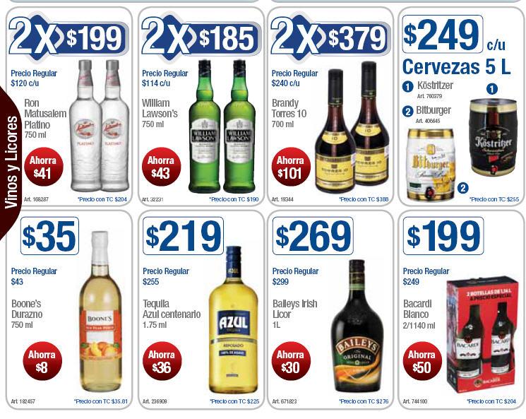 Sam's Club: patona de Chivas Regal y Absolut por $799 y más ofertas en licores