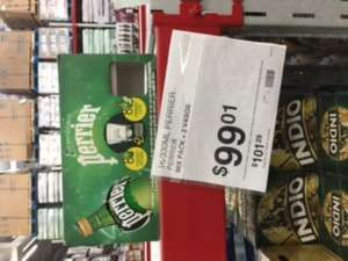 Sam's Club Monterrey: 16 Perrier de 330ml + 2 vasos de regalo a $99.01