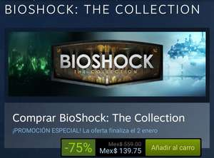 STEAM: BIOSHOCK THE COLLECTION $139