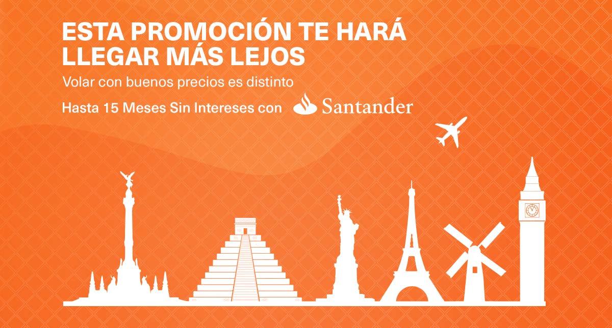 Venta especial Aeroméxico: ejemplos Orlando $150USD, Chicago $250, Colombia $299