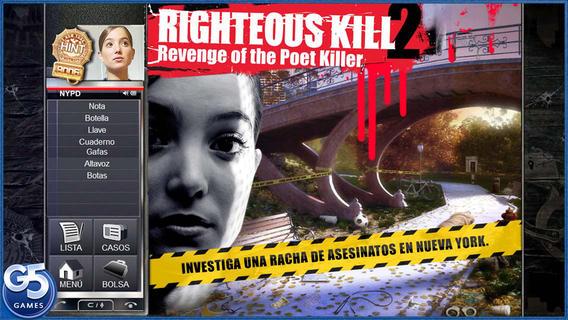 APPSTORE Righteous Kill 2 GRATIS por tiempo limitado. Precio real 7 dólares.