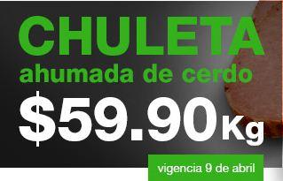 Martes de Carnes La Comer: espinazo de cerdo $49.90, chuleta ahumada $59.90 y más