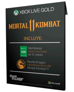 Game planet: 12 meses de gold + Parche Dragon (Mortal Kombat 11)
